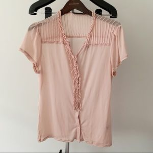 The Limited • Light Pink Blouse